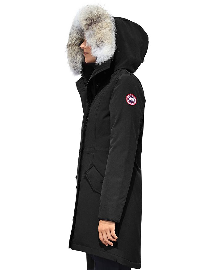 32df1422908a Canada Goose Rossclair Fur Trim Down Parka | Bloomingdale's