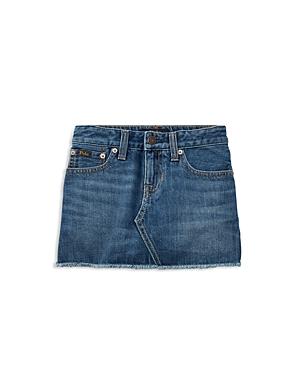 Polo Ralph Lauren Girls Denim Skirt  Little Kid