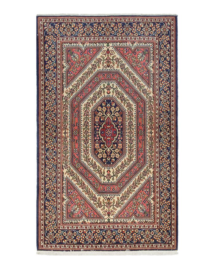 Anne Hand Knotted Area Rug 4 3 X 7 0