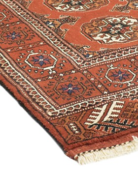 """Solo Rugs - Torkaman Chancellor Hand-Knotted Area Rug, 4' 0"""" x 5' 3"""""""