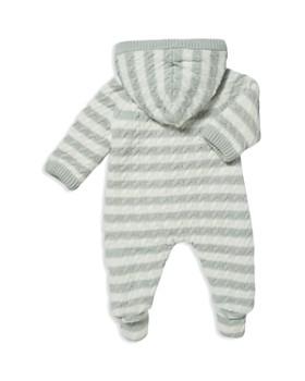 Angel Dear - Unisex Sherpa-Lined Knit Footie - Baby