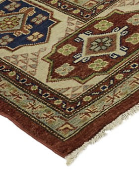 """Solo Rugs - Kazak Socrates Hand-Knotted Area Rug, 8'10"""" x 11'7"""""""
