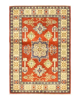 """Solo Rugs - Kazak Apolo Hand-Knotted Area Rug, 3'6"""" x 5'1"""""""