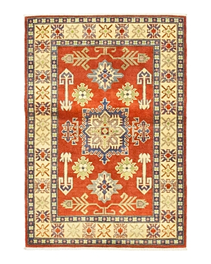 Solo Rugs Kazak Apolo Hand-Knotted Area Rug, 3'6 x 5'1
