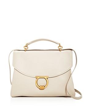 0a49fffcf328 Salvatore Ferragamo - Margot Medium Leather Shoulder Bag ...