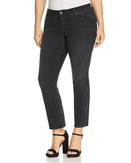 SLINK Jeans Plus - Straight Jeans in Sasha