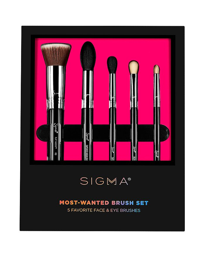 Sigma Beauty Most Wanted Brush Gift Set