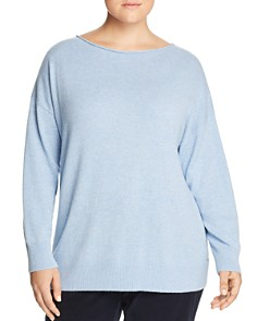 Lafayette 148 New York Plus - Relaxed Cashmere Sweater