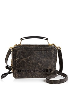 MARC JACOBS - The Box Medium Leather Crossbody