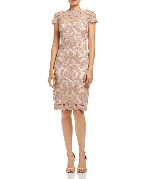 Tadashi Shoji Sequined Lace Dress | Bloomingdale\'s