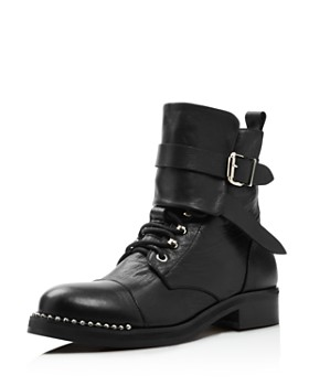 48d1969015f0 Charles David - Women s Scorch Studded Leather Boots ...