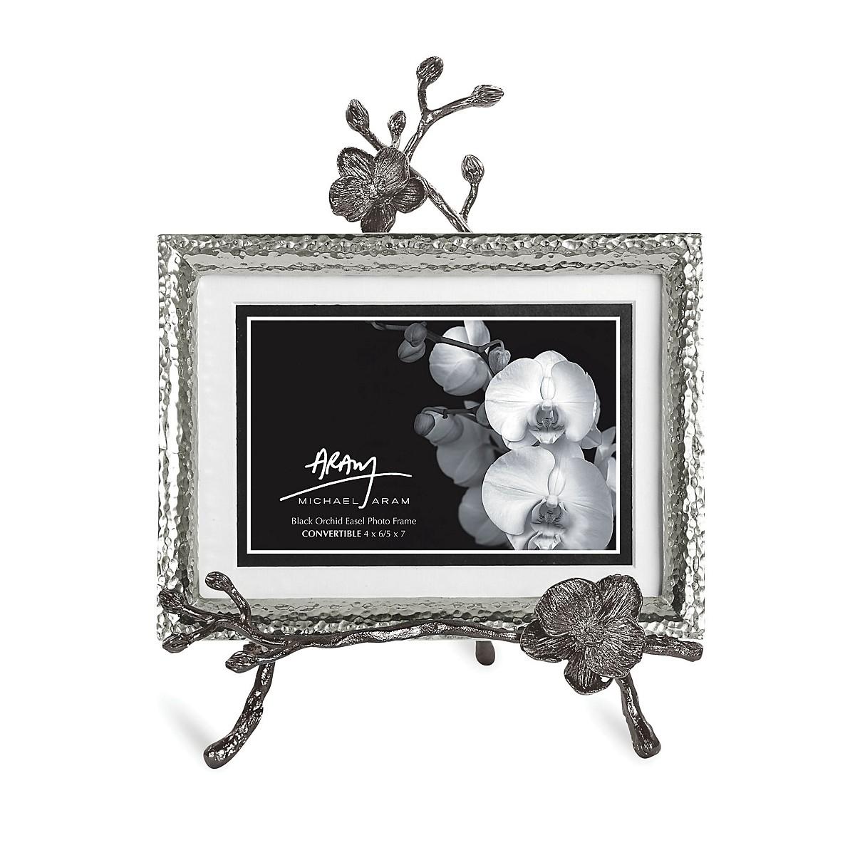 Michael Aram Black Orchid Easel Frame, 5\
