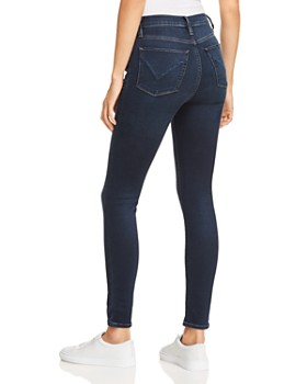 Hudson - Barbara High Rise Skinny Jeans in Down N Out