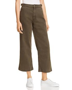 DL1961 - Hepburn High Rise Wide-Leg Cargo Jeans in Dale
