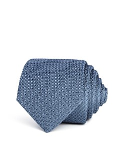 Turnbull & Asser Grenadine Solid Silk Classic Tie - Bloomingdale's_0