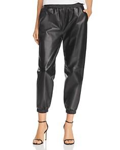 Parker - Eavan Leather Jogger Pants
