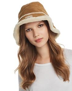 UGG® - Shearling Bucket Hat