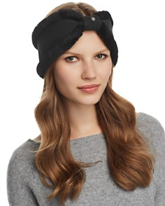 UGG® - Bow Detail Shearling Headband
