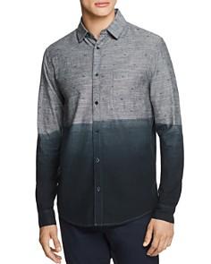 Sovereign Code - Rex Printed Dip-Dyed Regular Fit Sport Shirt