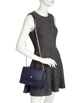 Ted Baker - Delila Medium Bow Detail Leather Crossbody - 100% Exclusive