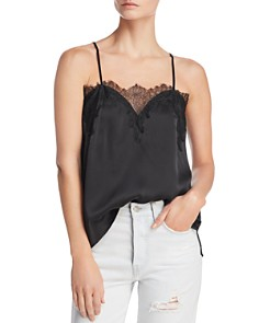 CAMI NYC - Silk Lace-Trim Cami
