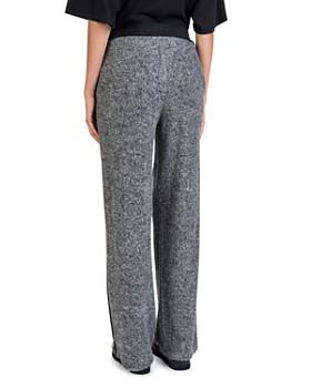 The Kooples - Fleece Velvet-Stripe Sweatpants