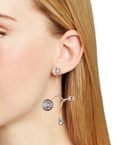 Atelier Swarovski - by Peter Pilotto Arbol Long Drop Earrings