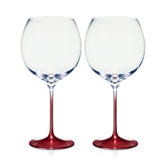 Villeroy & Boch Allegorie Premium Rose Burgundy/Grand Cru Glass, Set of 2 - Bloomingdale's_0
