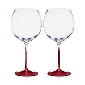 Villeroy & Boch - Allegorie Premium Rose Burgundy/Grand Cru Glass, Set of 2
