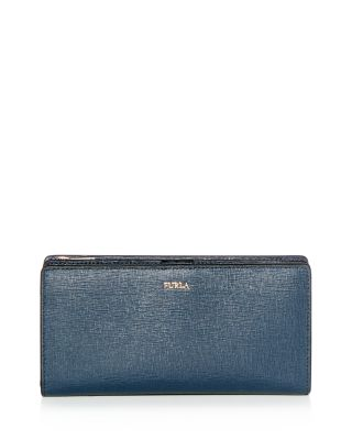 Babylon Leather Continental Wallet by Furla