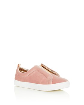 Sam Edelman - Girls' Bella Emma Velvet Slip-On Sneakers - Toddler, Little Kid, Big Kid