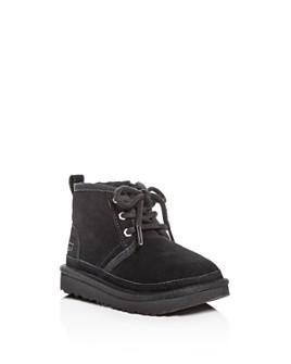 UGG® - Unisex Neumel II Suede Lace Up Boots - Walker, Toddler