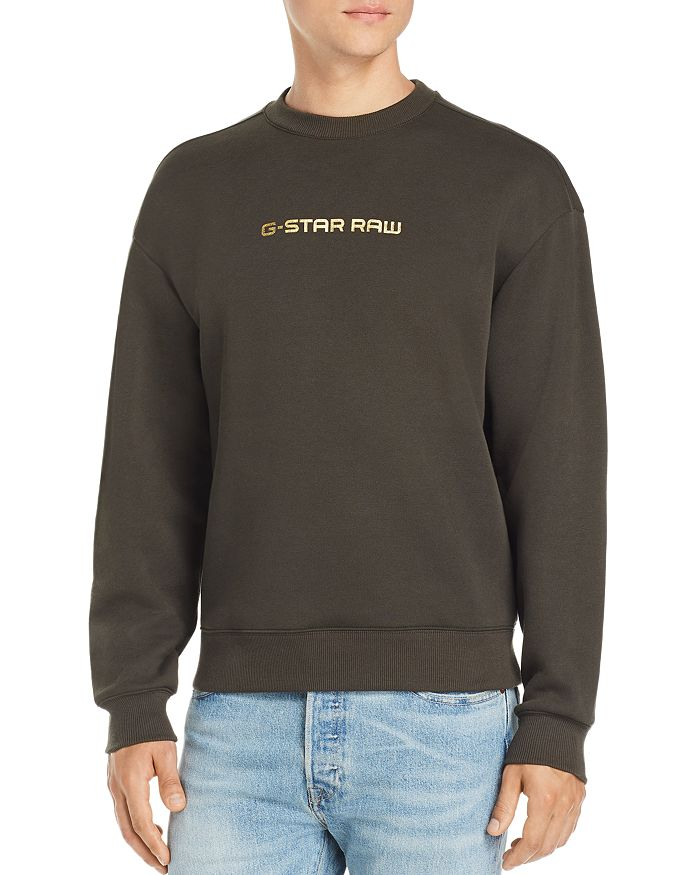 G-STAR RAW - Togrul Metallic Logo-Print Sweatshirt