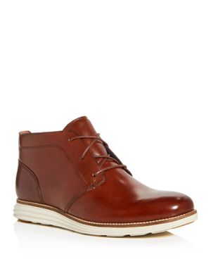 Men'S Original Grand Leather Chukka Boots in Woodbury/ Ivory