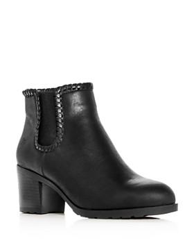 Jack Rogers - Women's Pippa Leather Block-Heel Booties