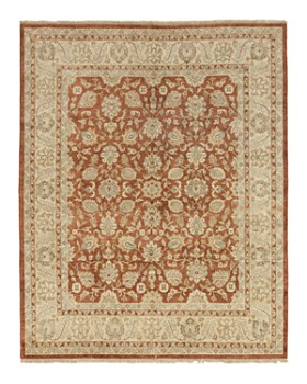 """Solo Rugs - Oushak Jasper Hand-Knotted Area Rug, 8'3"""" x 10'1"""""""