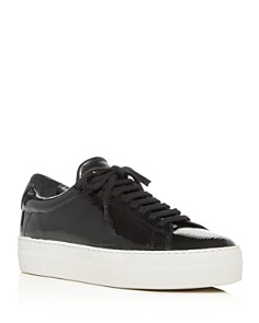 Zespa - Women's Lace-Up Platform Sneakers