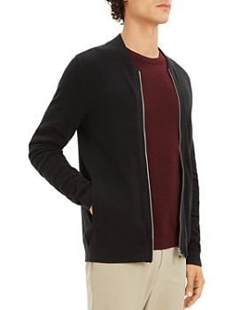 Theory - Lievos Textured Zip Cardigan