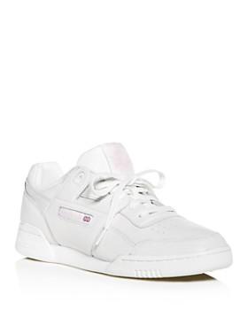 Reebok - Women s Workout Plus Vintage Lace Up Sneakers ... f93c0d606527
