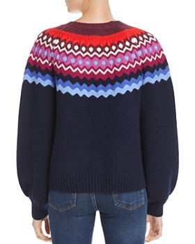 Joie - Karenya Fair-Isle Sweater