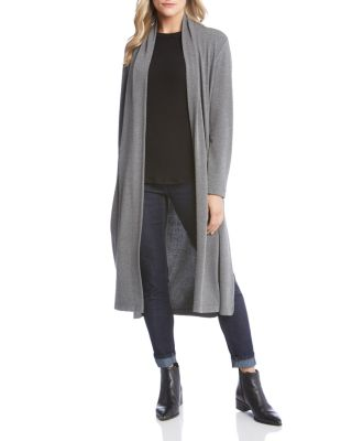 Open Duster Cardigan by Karen Kane