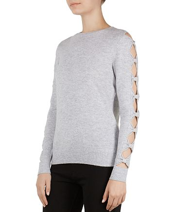 1fe253fd7ed4 Ted Baker - Danikaa Cutout Bow Sleeve Sweater