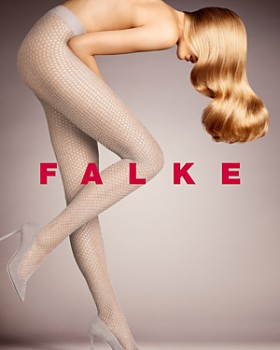 Falke - Sweater Knit Fishnet Tights