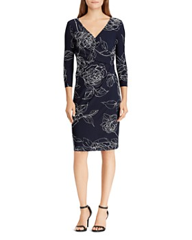 Ralph Lauren - Surplice Jersey Dress