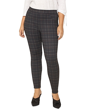 Sanctuary Curve Plaid Leggings