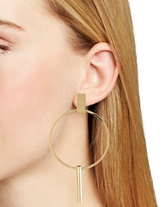 Trina Turk -  Hoop Drop Earrings