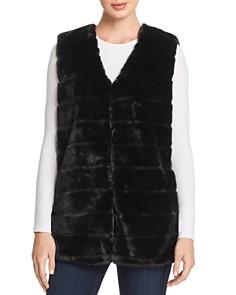Echo Faux Fur Vest - Bloomingdale's_0
