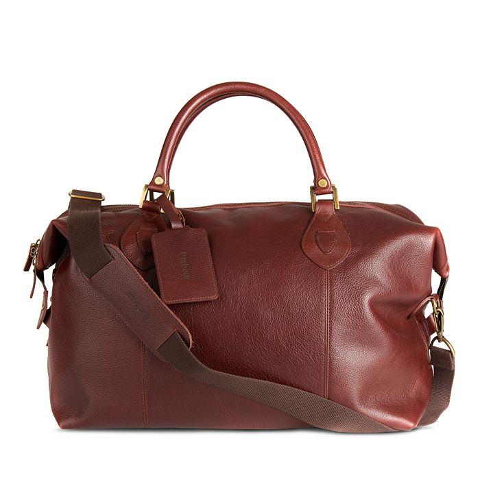 Barbour - Leather Medium Travel Explorer Duffel
