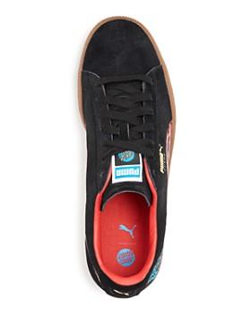 PUMA - Men's Classic Santa Cruz Suede Lace Up Sneakers