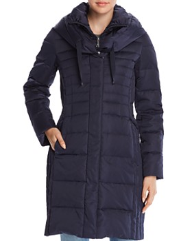 T Tahari - Mia Fitted Puffer Coat
